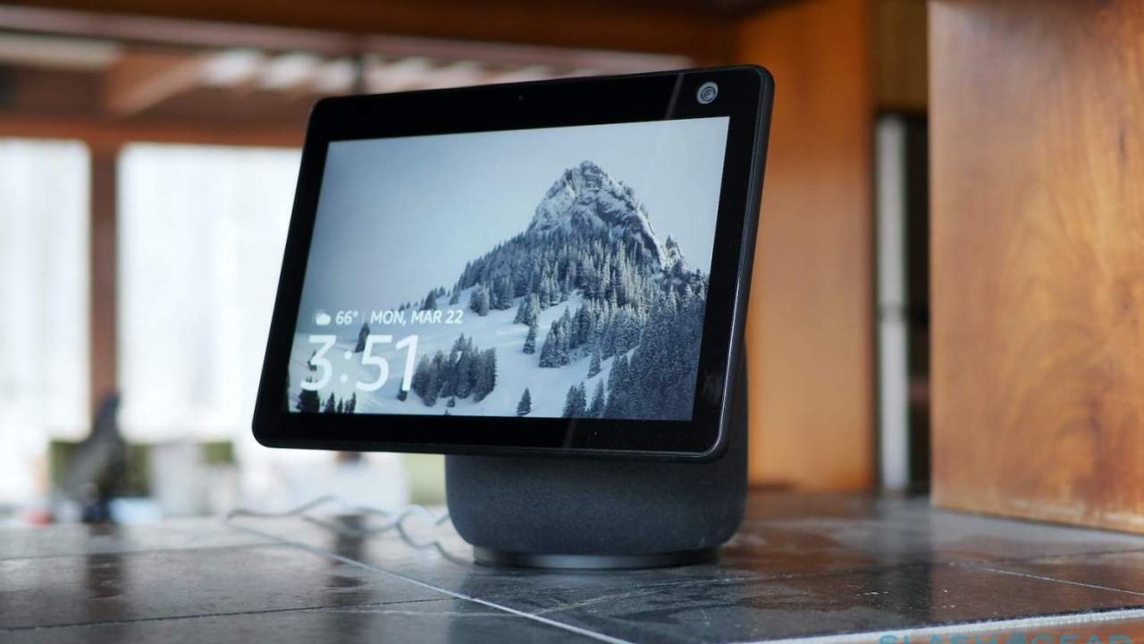 Echo Show 10 (3rd Gen) face-tracking Zoom calls now supported