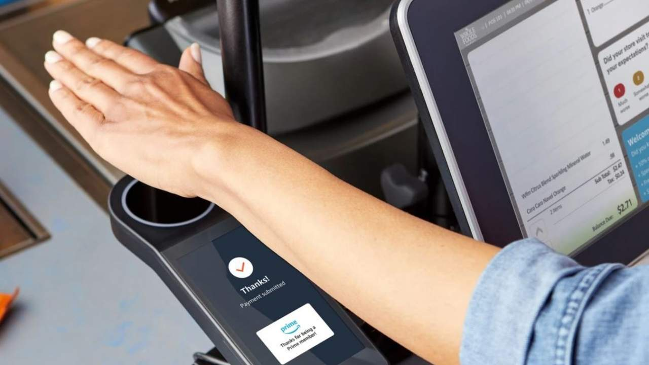 Amazon is bringing palm-scanning payments to Whole Foods stores