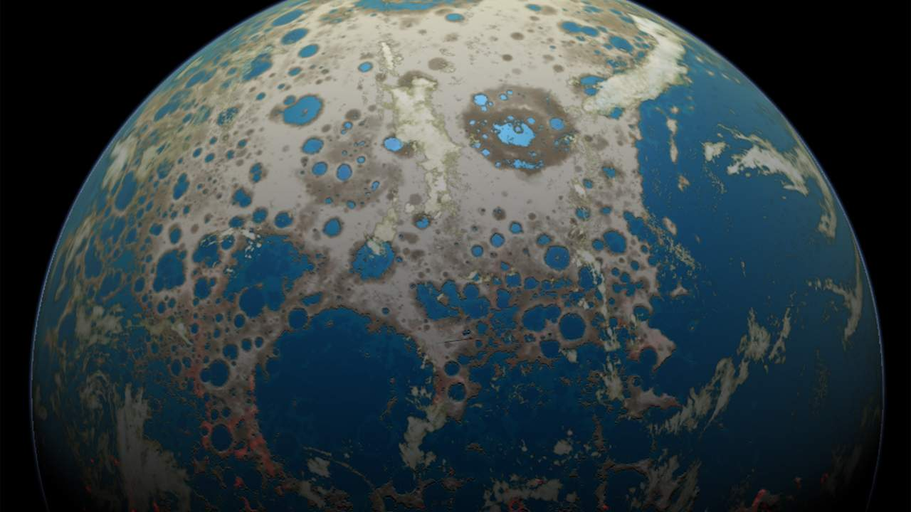 Study shows continental crust emerged 500 million years before previously thought