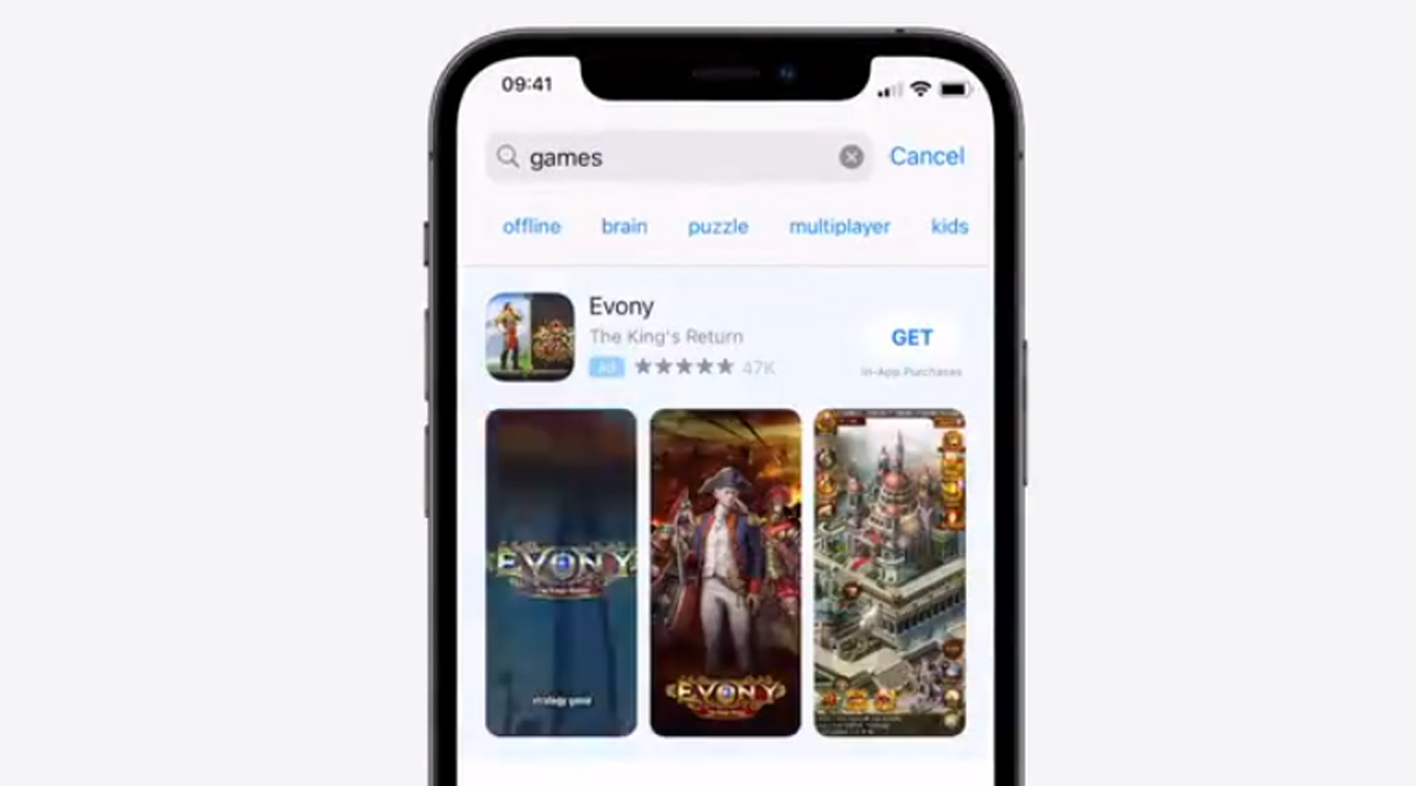 Search suggestions hit the App Store in the US and other countries