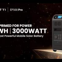 Bluetti EP500 Pro 5.1kWh Power Station – home power backup on wheels