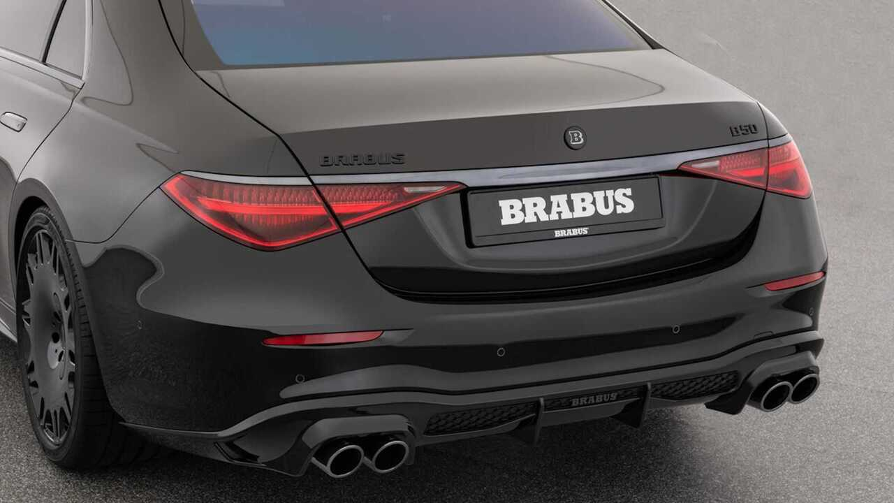 Brabus 500 is a Mercedes-Benz S-Class in wolf's clothing