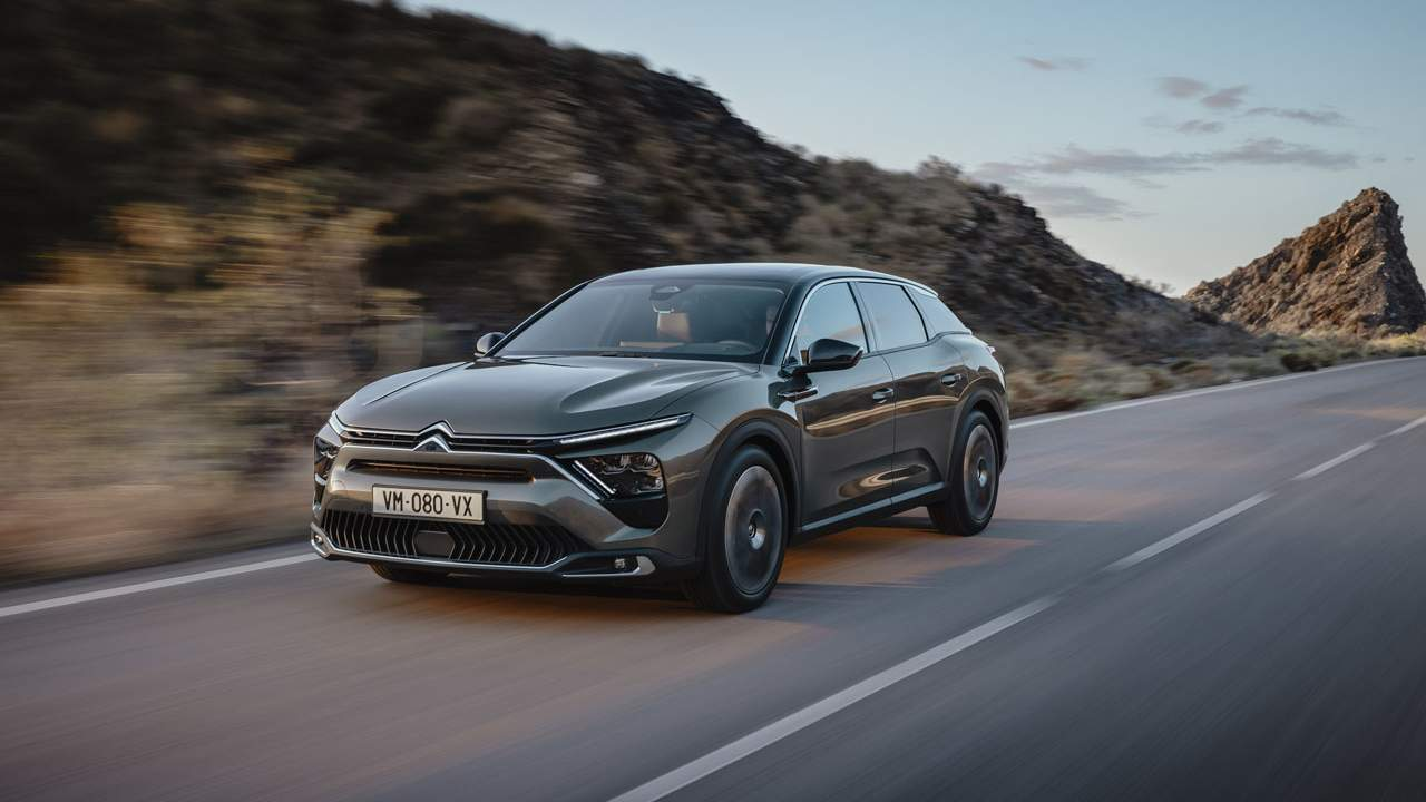 Citroen C5 X is part saloon and part station wagon with the stance of an SUV