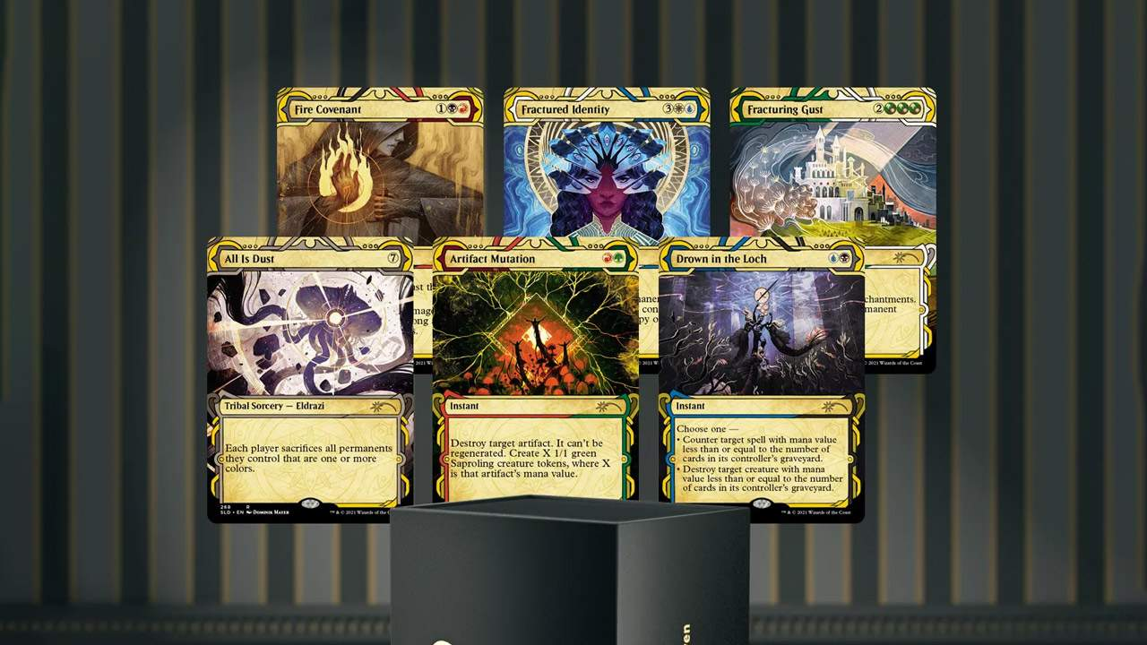 Magic: The Gathering Secret Lair Strixhaven set hits the frame