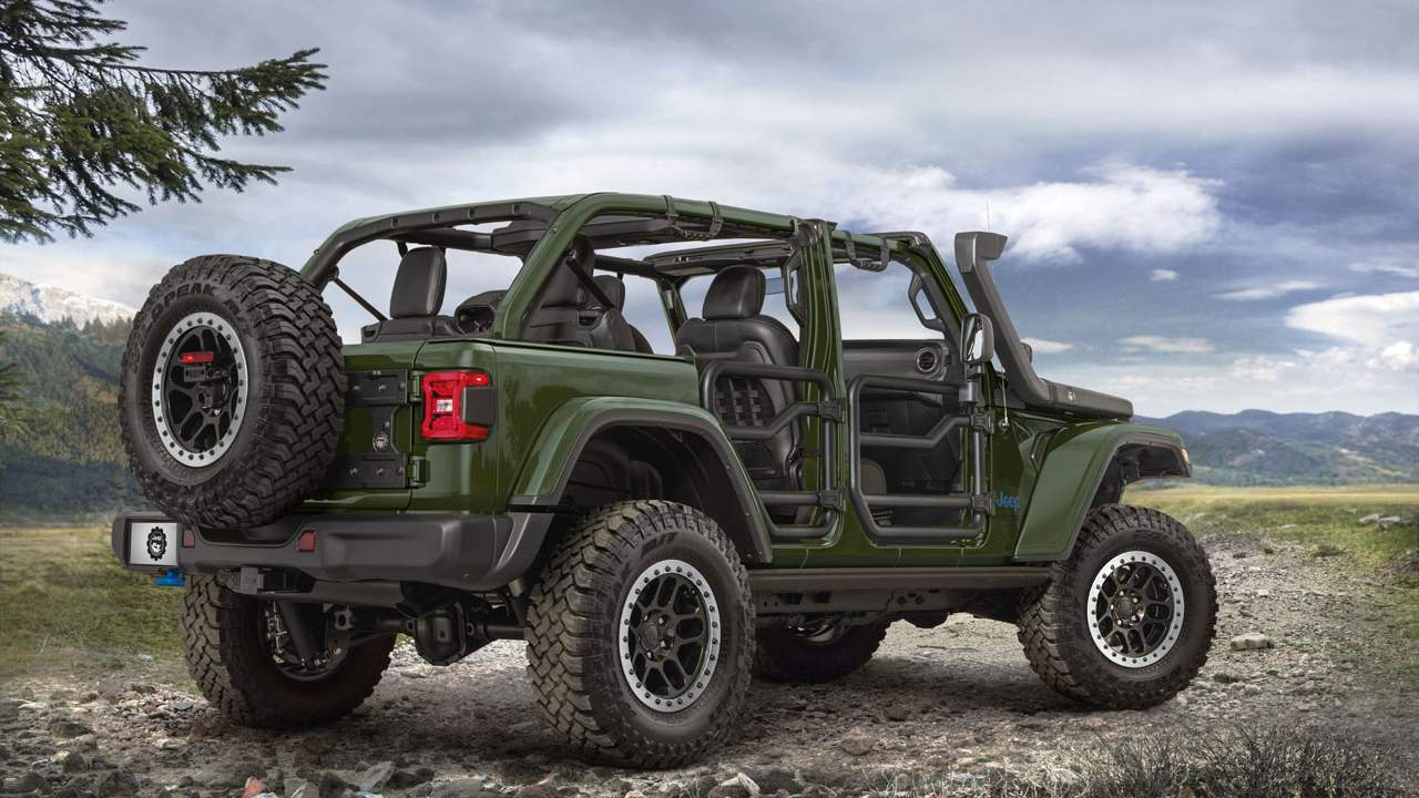 Jeep Launches a two-inch Lift Kit for the Wrangler 4xe