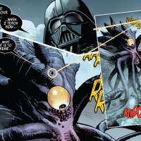 Darth Vader comic shows Emperor with new crab people friends