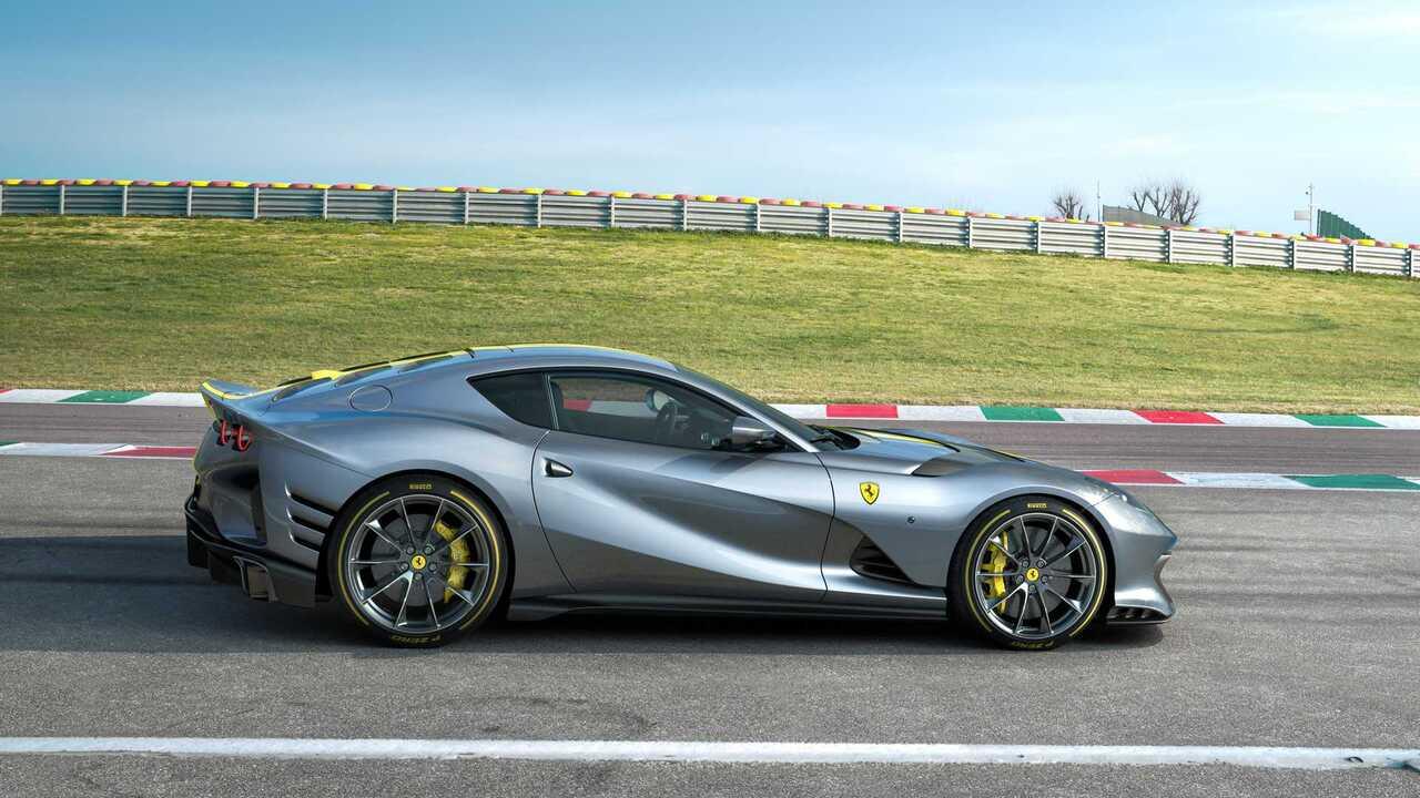 Ferrari 812 Superfast Versione Speciale has the most potent Ferrari V12 engine