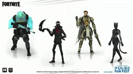 Here's your first look at Hasbro's next Fortnite figurines and Loot Shark