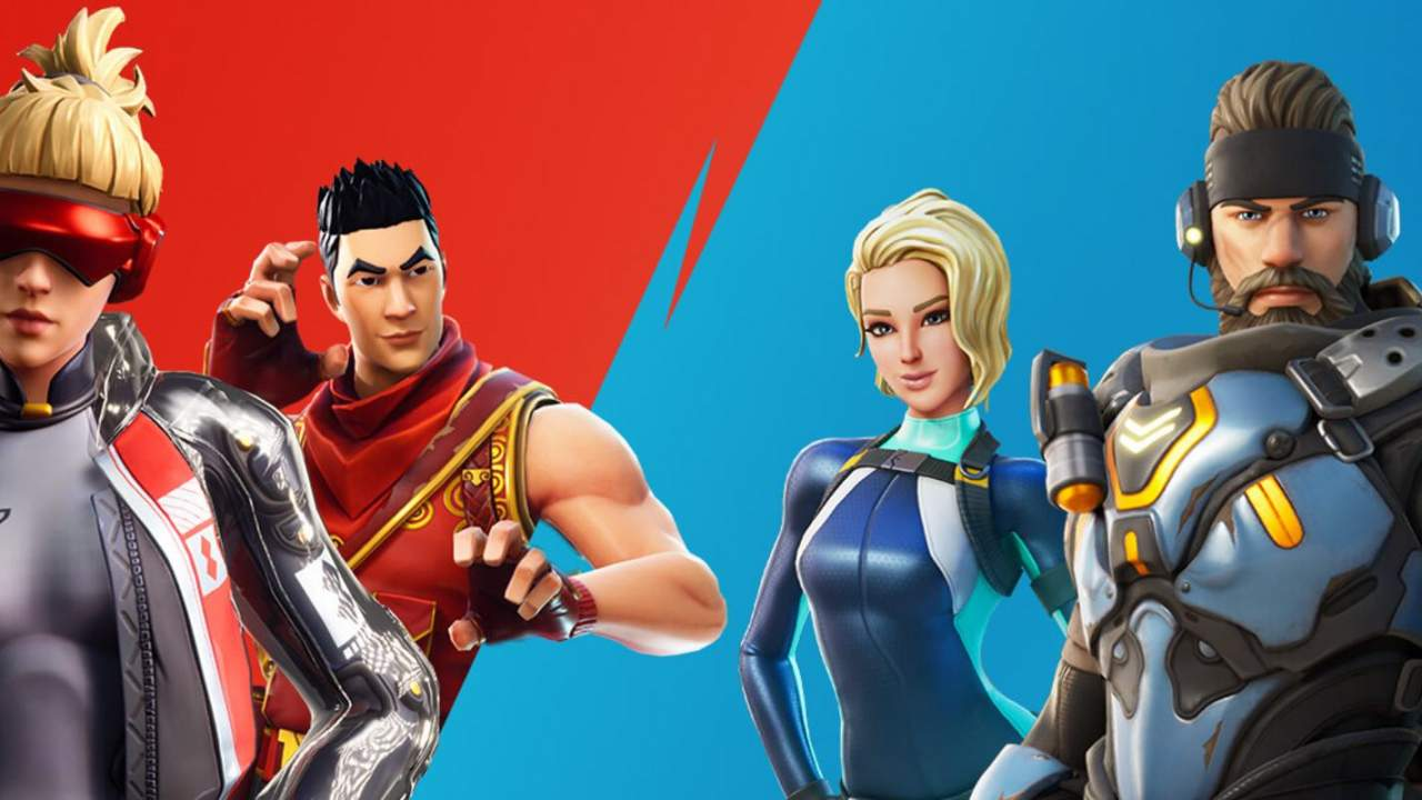 Fortnite Red vs Blue weekend arrives: What players need to know