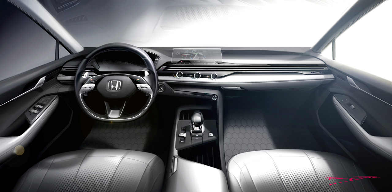 Honda shows off its new interior design philosophy for future models