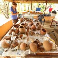 Archaeologists discover 3500-year-old terracotta pots that once held honey