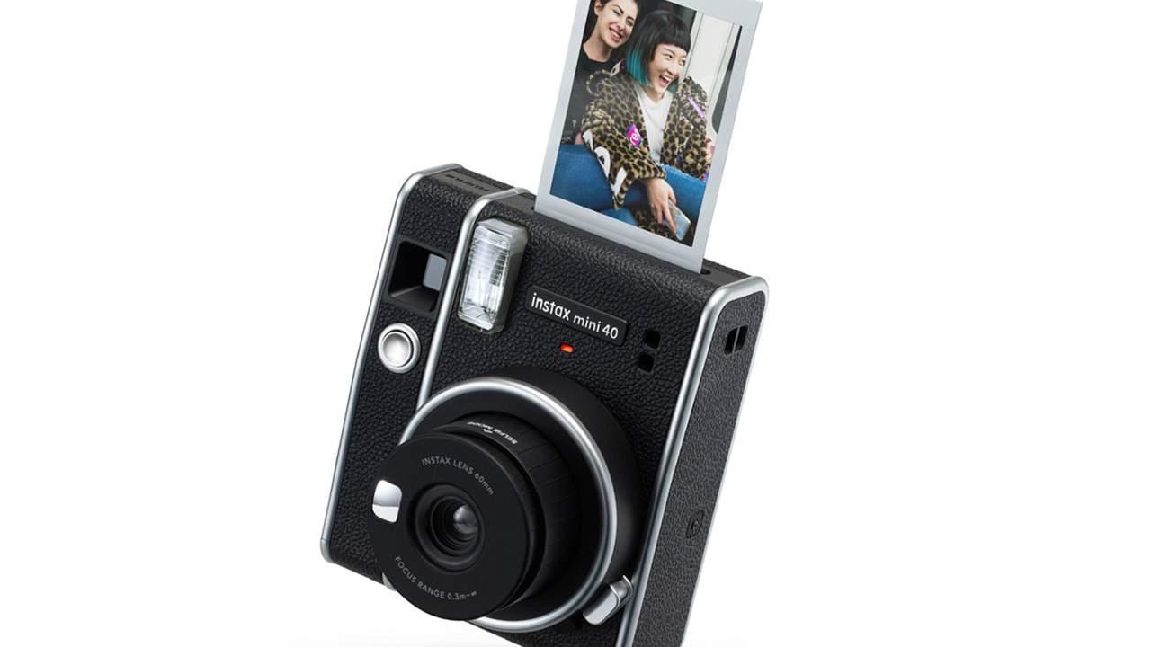 Fujifilm instax mini 40 is a retro camera that prints physical photos