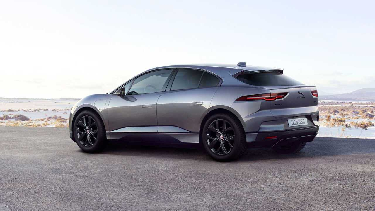 2022 Jaguar I-Pace Black Edition gets dark exterior trim and ebony leather