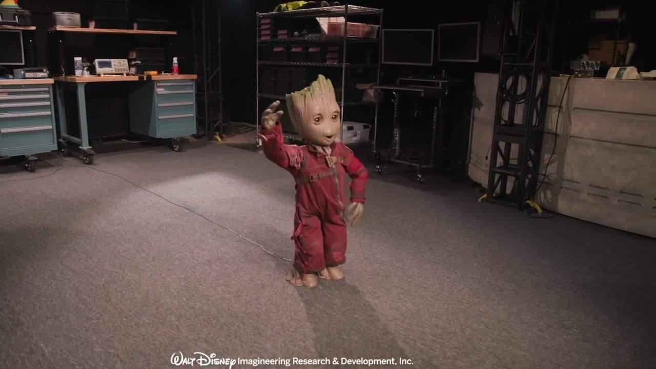 Disney Project Kiwi robot brings kid Groot to life