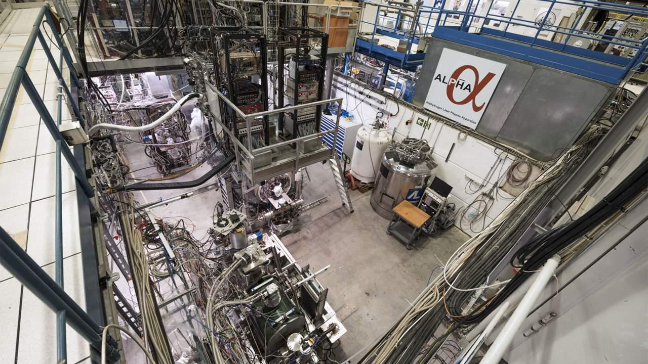 CERN ALPHA collaboration cools antihydrogen atoms with laser light