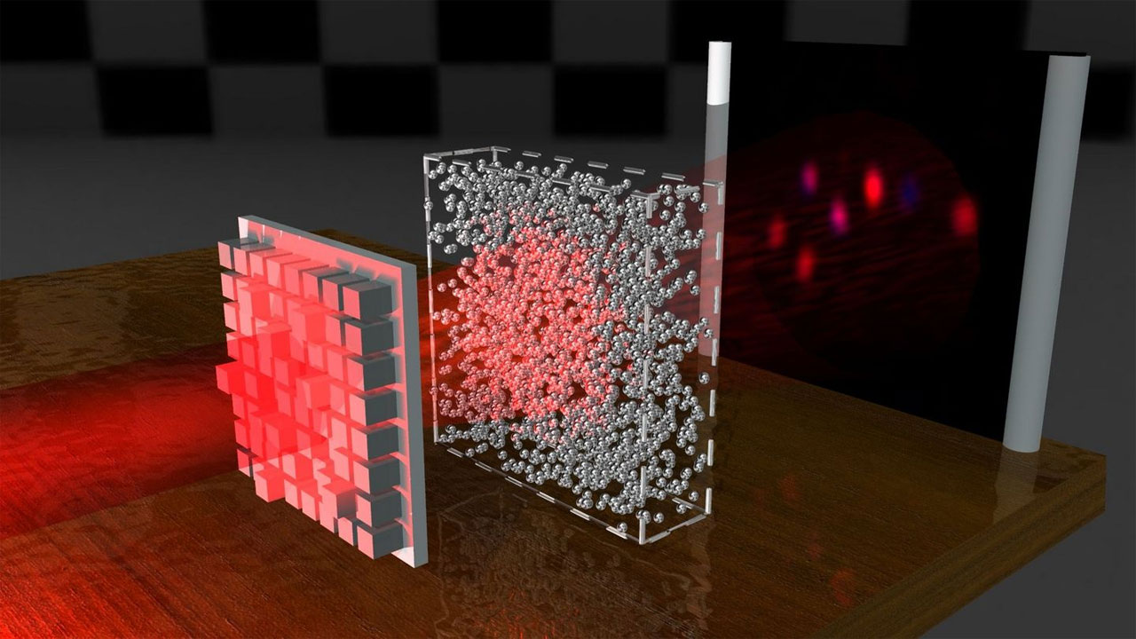 Researchers create special light waves that penetrate opaque materials