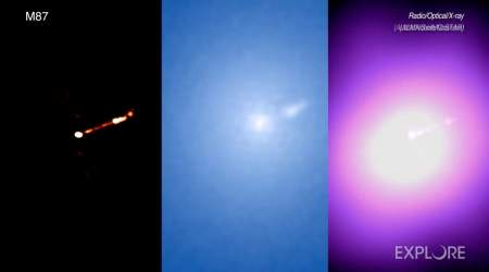 Mesmerizing video shows M87 black hole as nobody has seen it before
