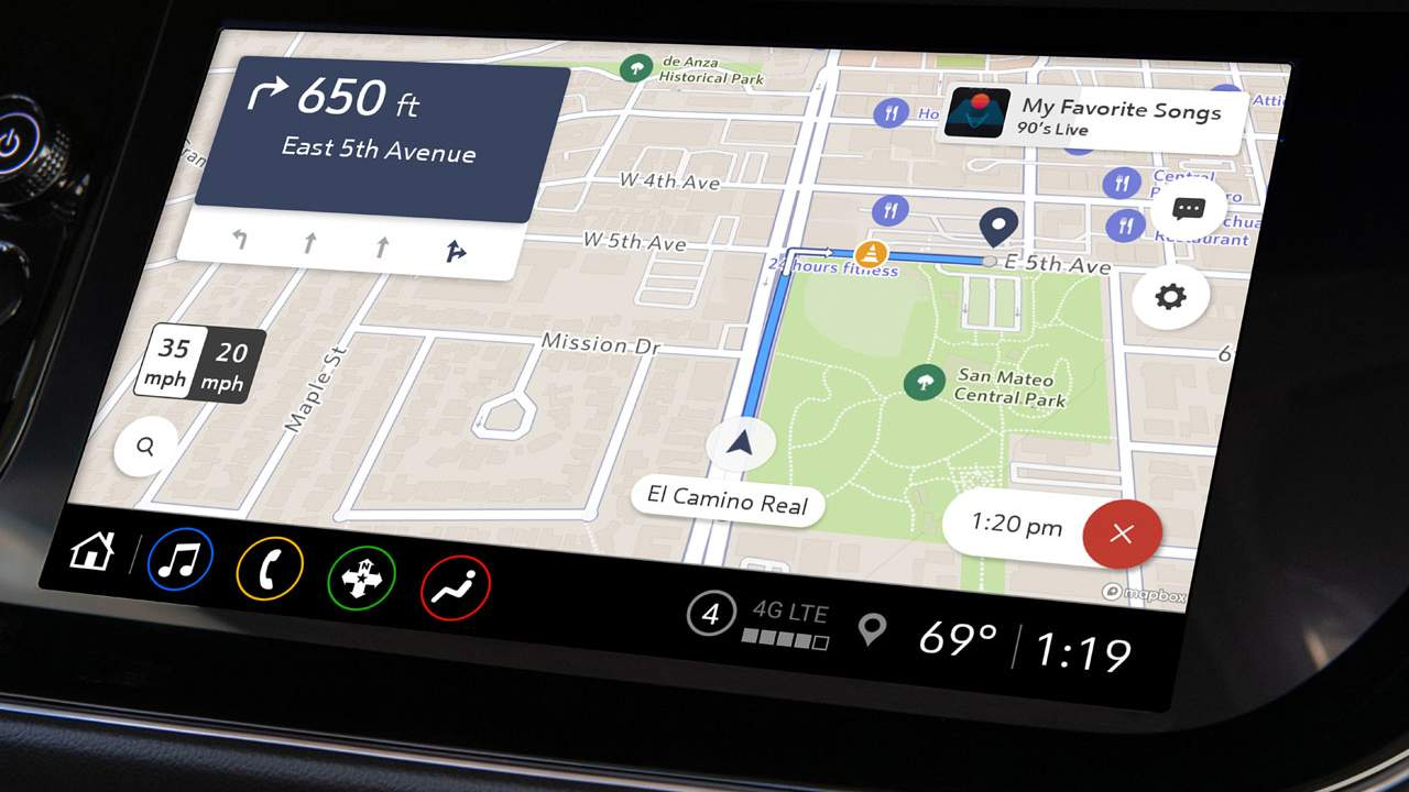 GM launches Maps+ app-based navigation system