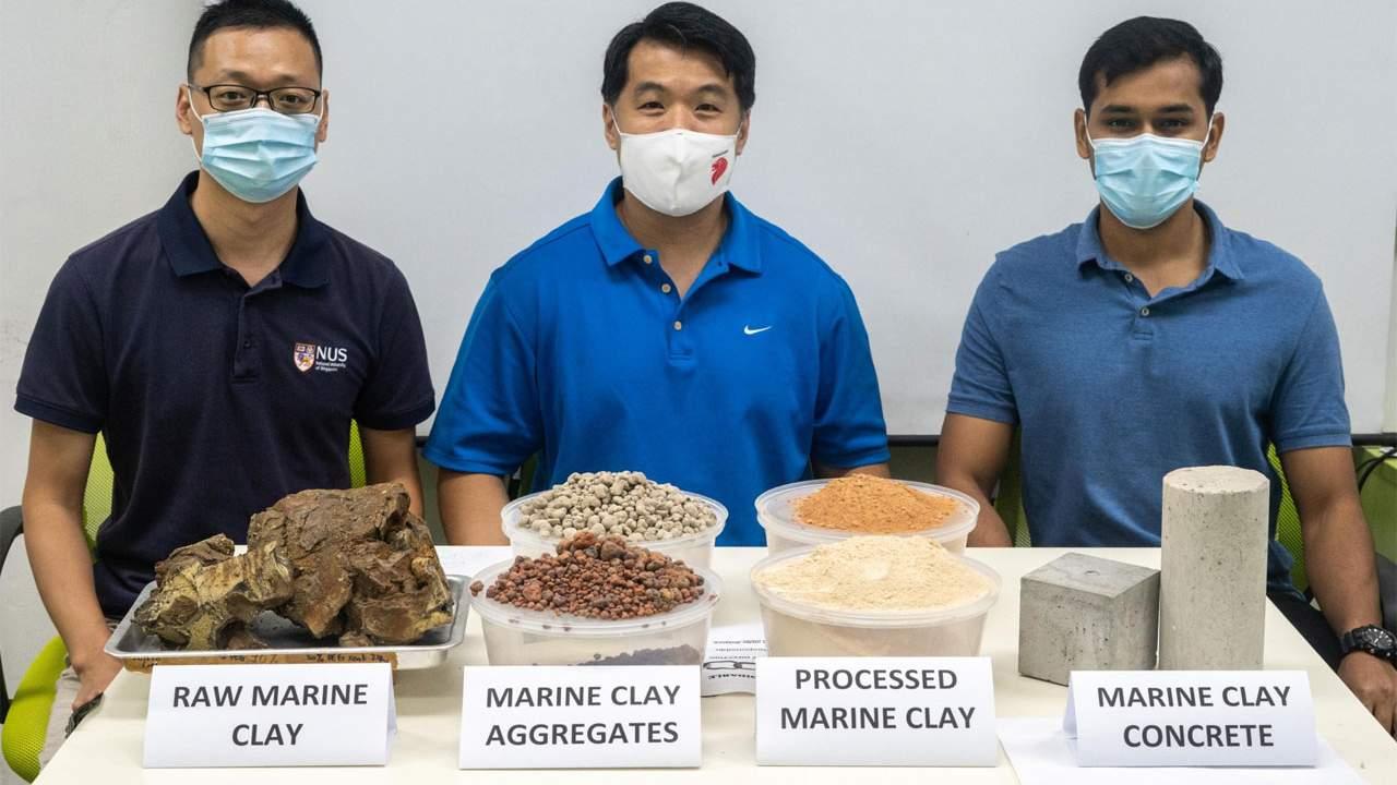 Engineers create greener concrete using waste clay