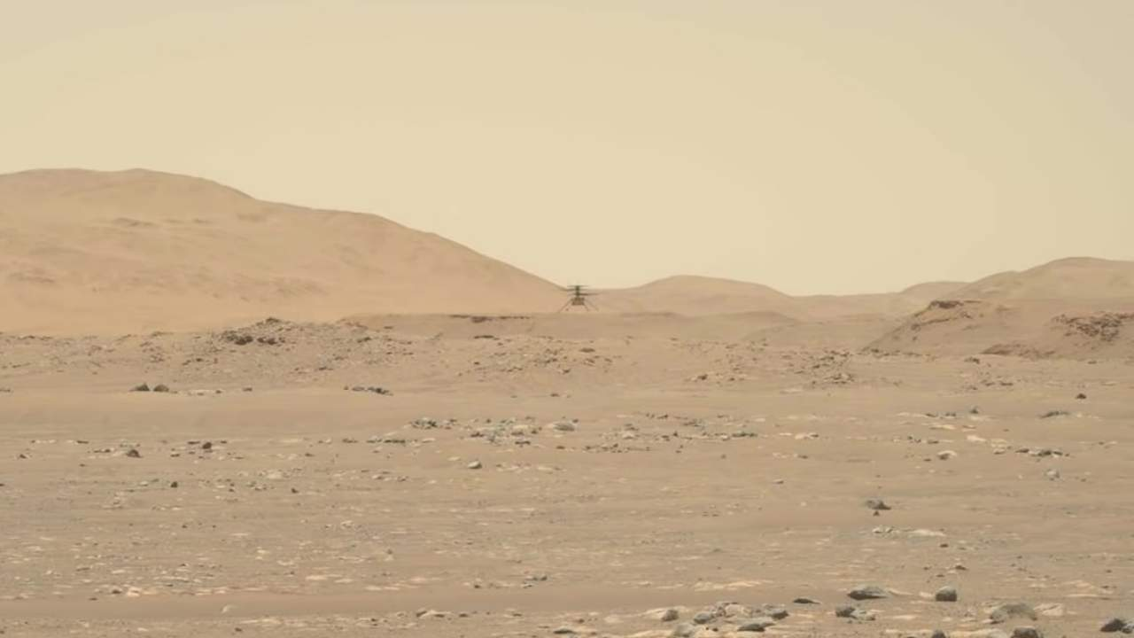 Mars Ingenuity helicopter third flight is its fastest, farthest