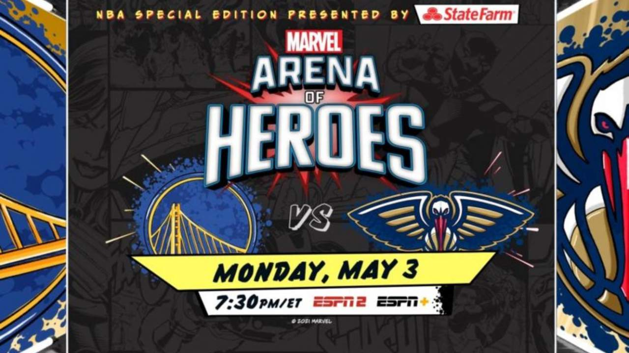 ESPN+ will stream a Marvel-themed NBA game called Arena of Heroes