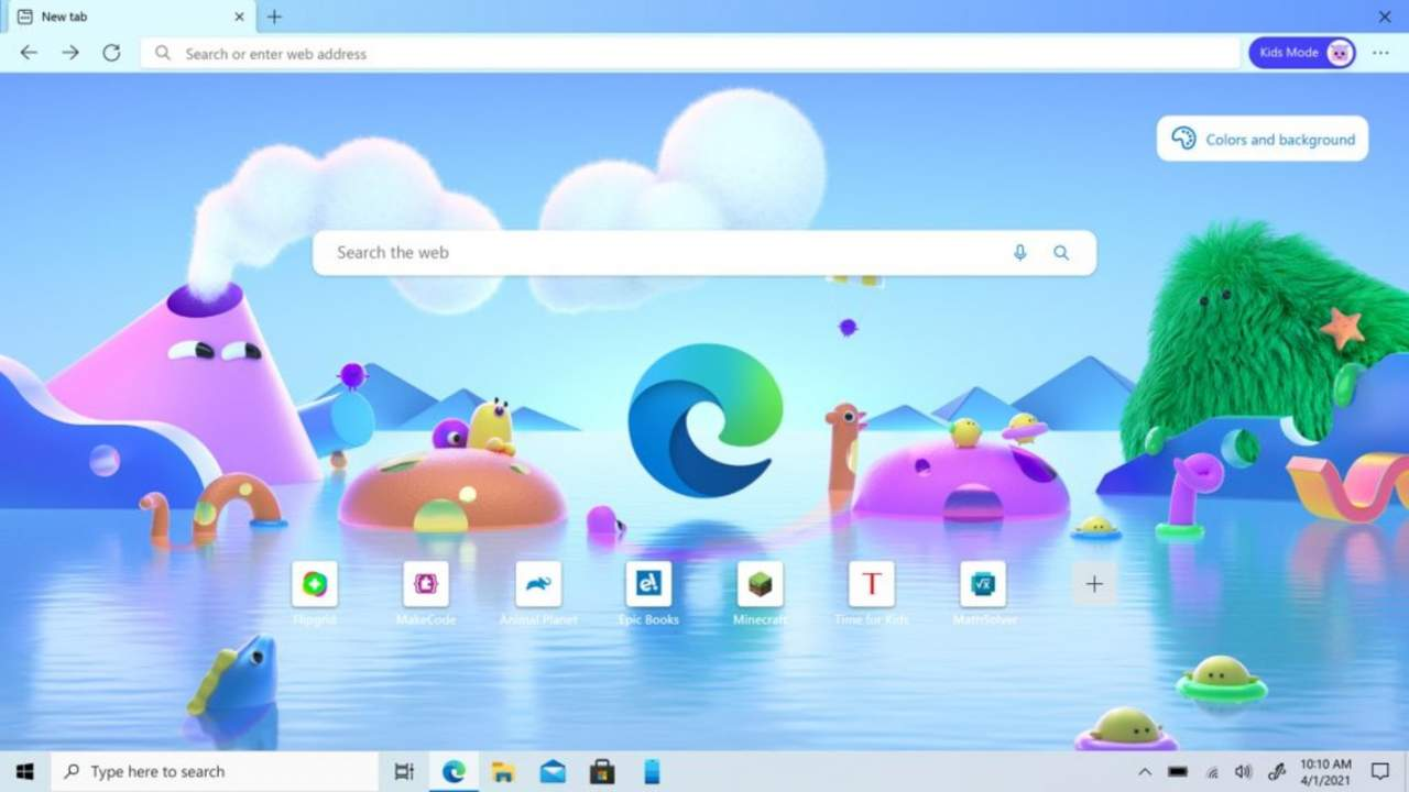 Microsoft Edge browser gets new Kids Mode for young users
