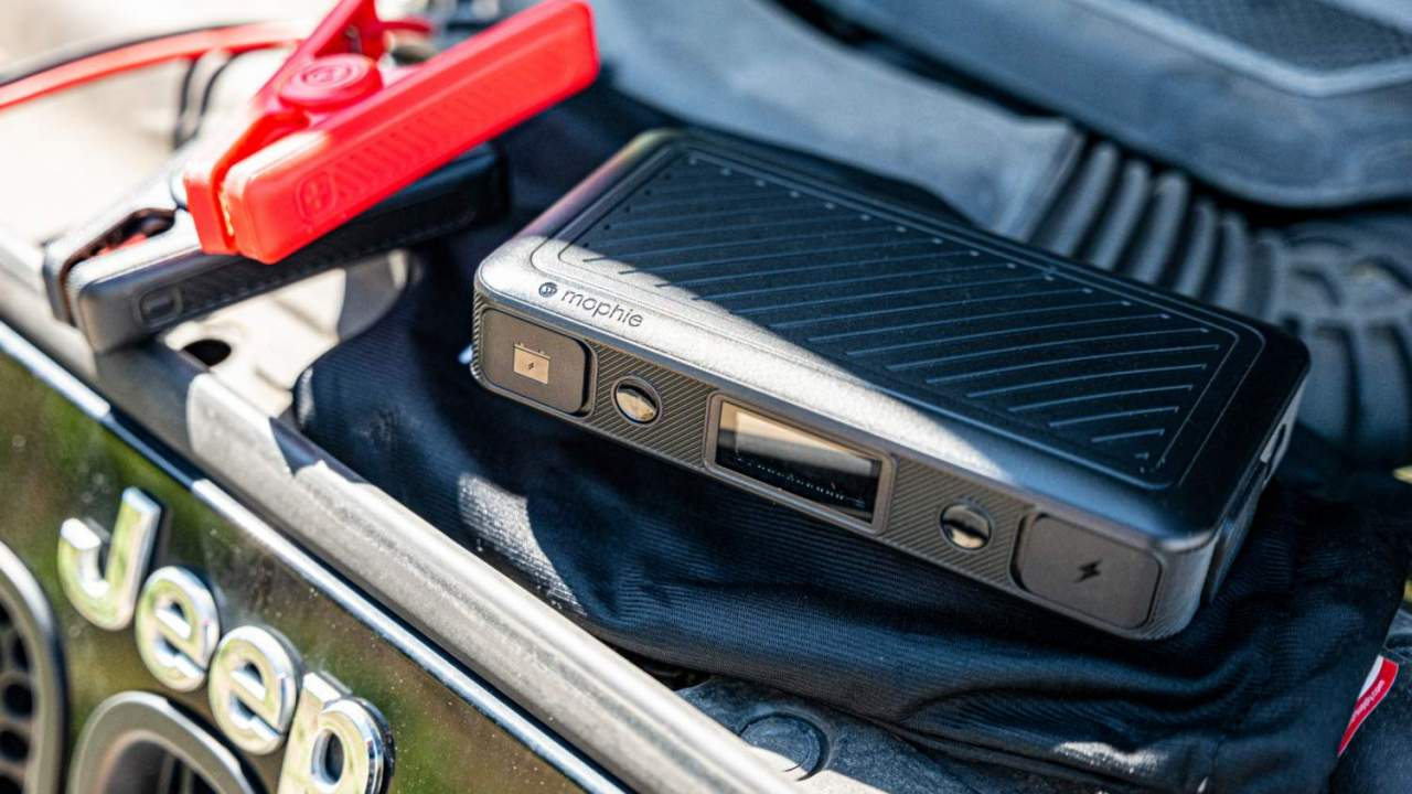Mophie's latest portable batteries can jump-start your car