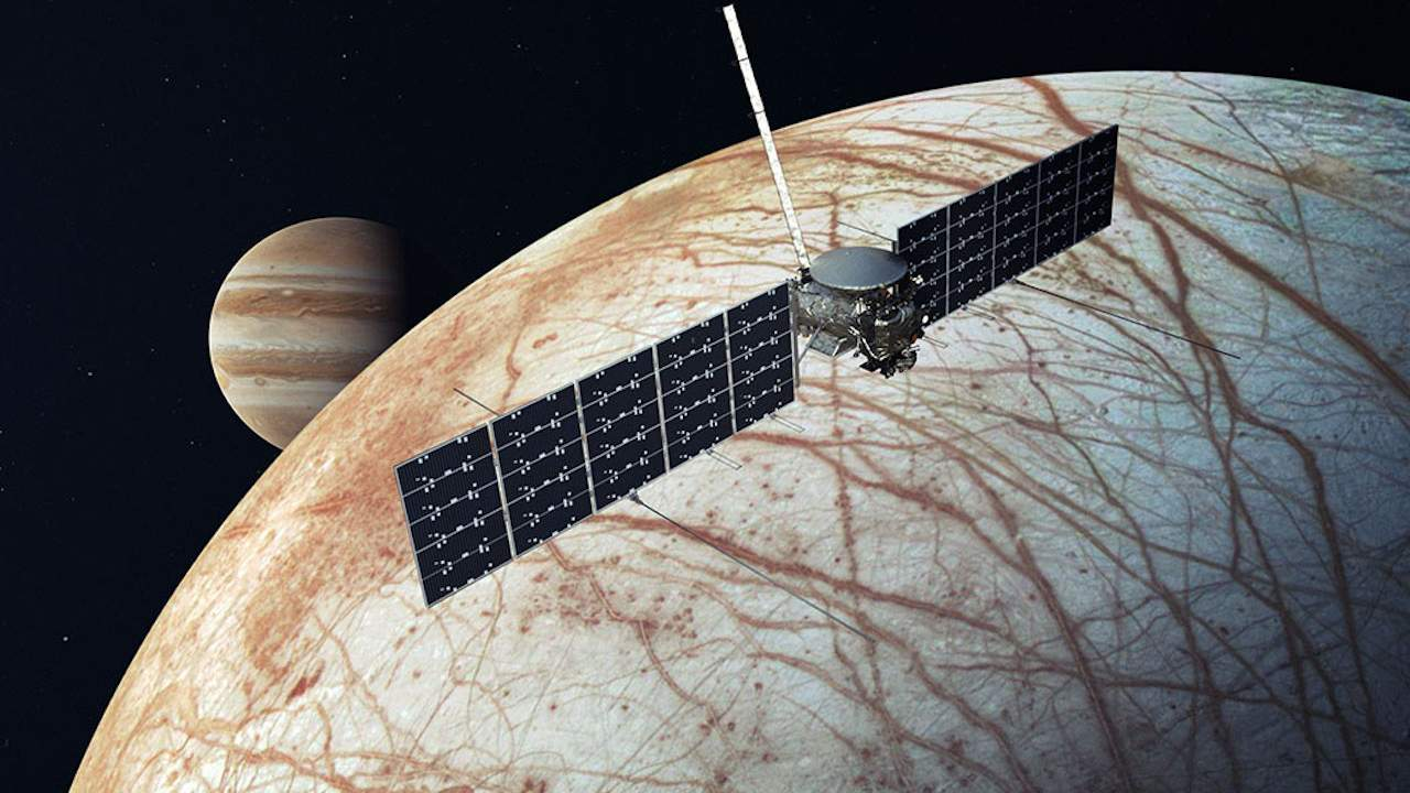 NASA's Europa Clipper hits huge milestone in hunt for life on Jupiter's moon