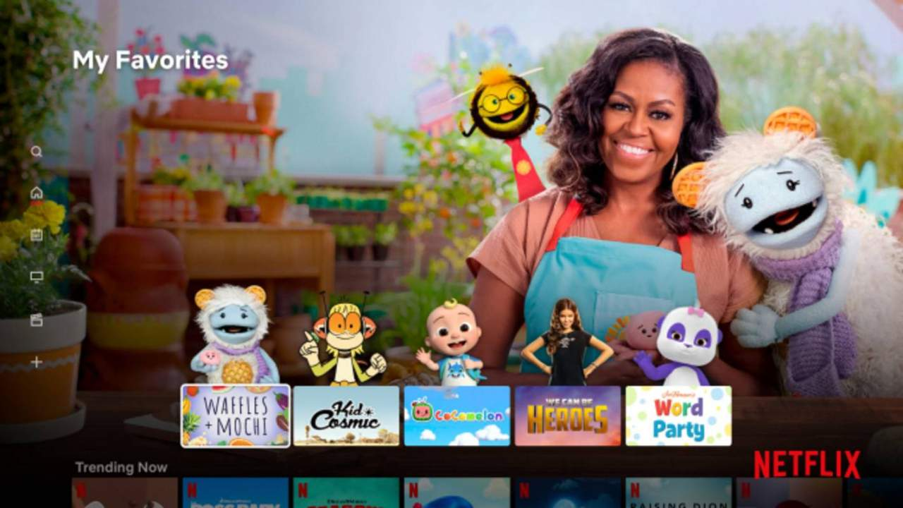 Netflix Kids profile redesign adds show characters for young users
