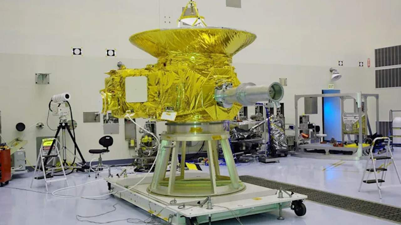 NASA's New Horizons spacecraft will hit a milestone this weekend