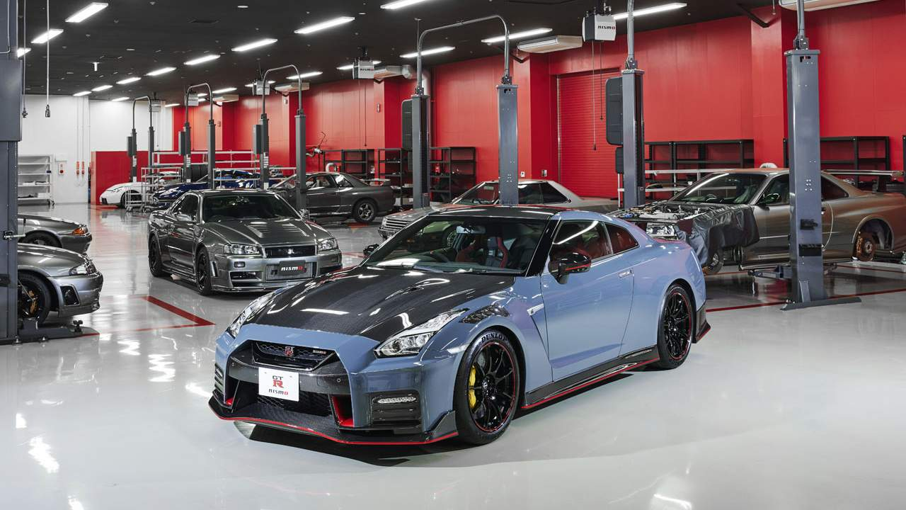 Nissan reveals the Nissan GT-R NISMO Special Edition with 600 horsepower