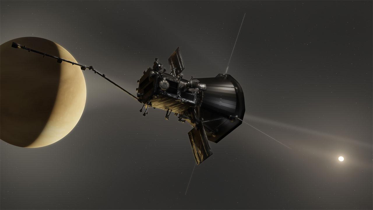 NASA Parker Solar Probe snaps images of Venus' dust ring