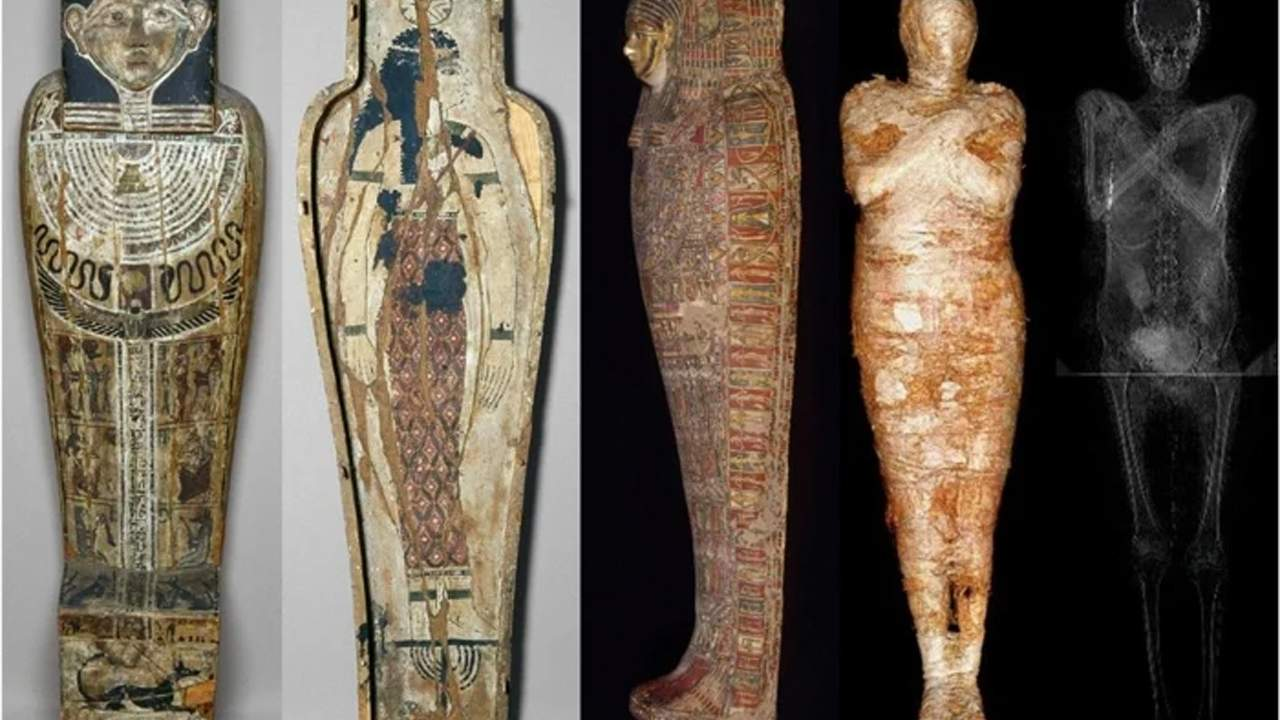 Archaeologists discover a pregnant mummy from ancient Egypt