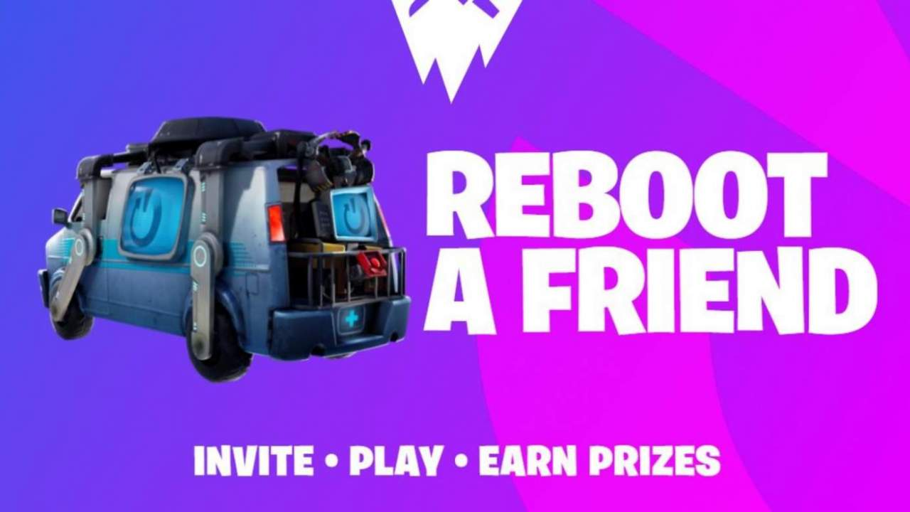 Fortnite Reboot a Friend returns with promise of free rewards