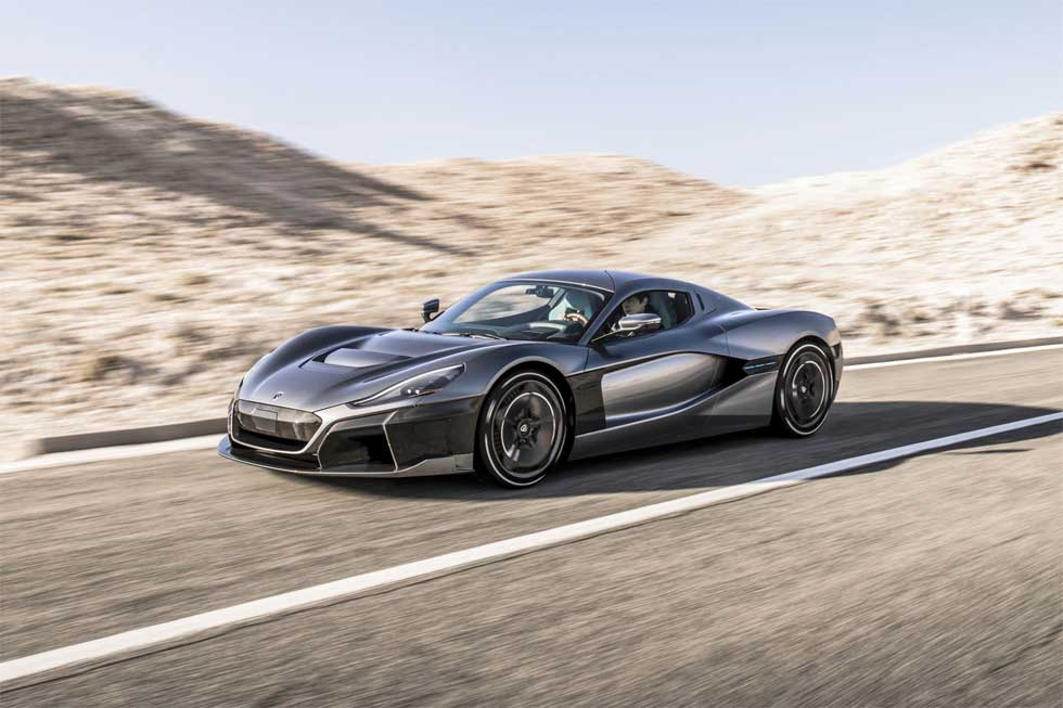Rimac C_Two electric hypercar demolishes the quarter-mile run in only 8.94-seconds