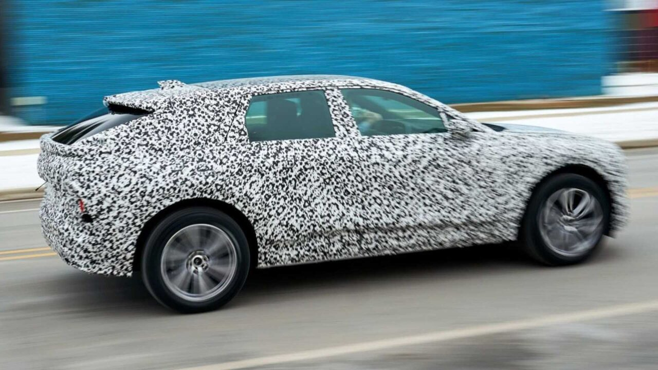 Cadillac Lyric electric SUV begins pre-production testing at the GM testing center