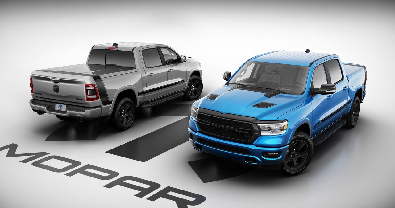 2021 Ram 1500 Mopar '21 Special Edition is limited to 250 units