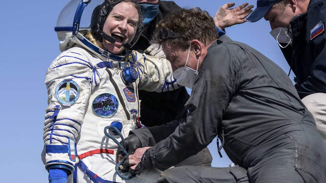 Crew returns to Earth after six months on the ISS