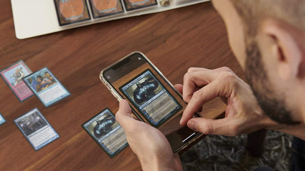eBay Pokemon and Magic card scanner appears to work with ease
