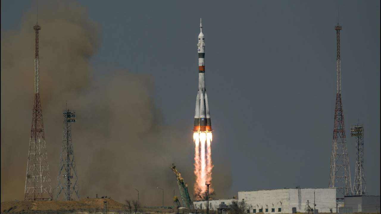 The latest Soyuz launch sends three new astronauts to the ISS