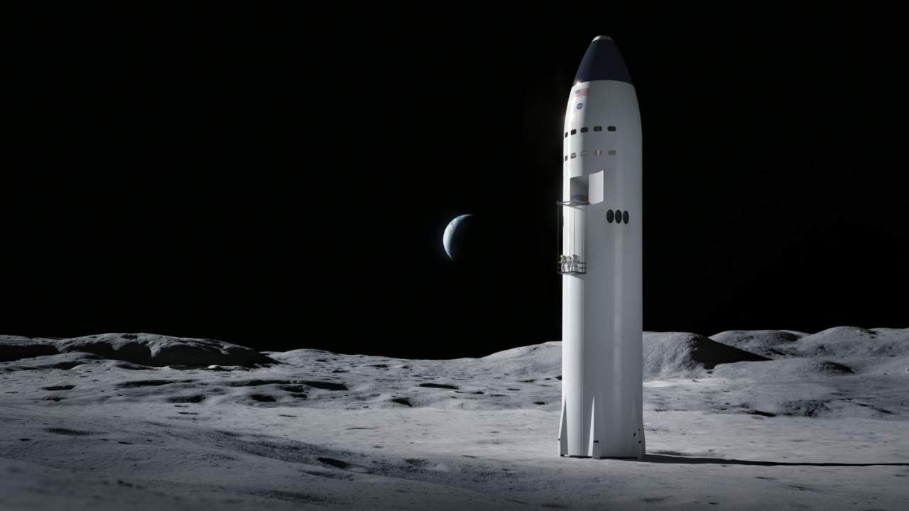 NASA Moon lander bid losers file protests over $2.9bn SpaceX win