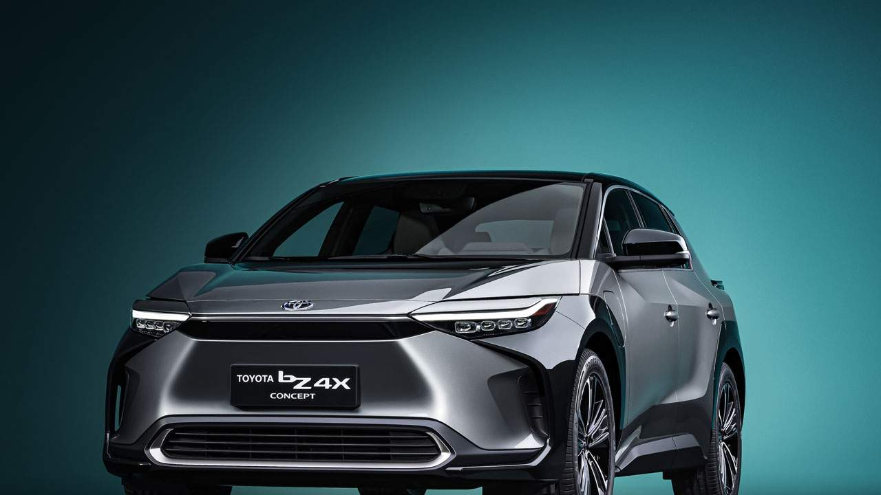 Toyota bZ4X BEV concept is an attractive all-wheel-drive electric SUV