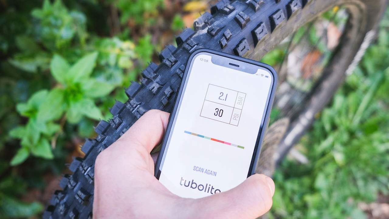 Tubolito MTB PSENS inner tubes can monitor their own air pressure
