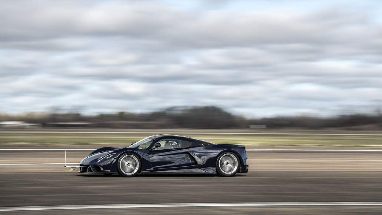 Hennessey Venom F5 moves into the second phase of development testing