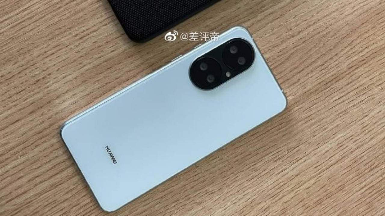 Huawei P50 design leaked hands-on photos still looks unsettling