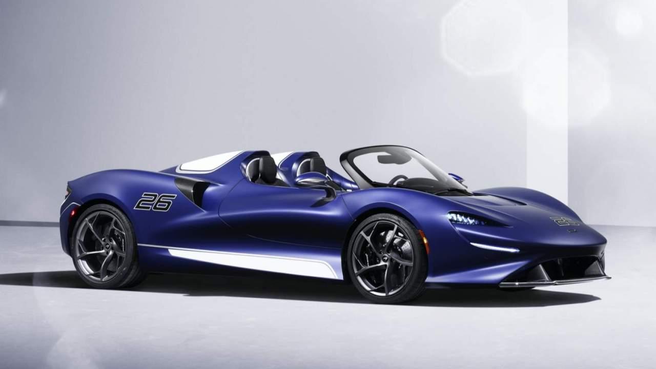 Even with a windshield the McLaren Elva looks wild