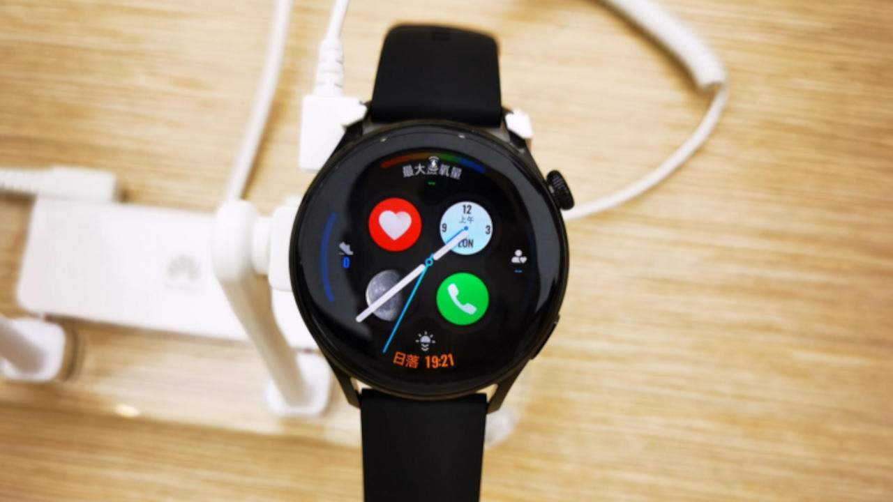Huawei Watch 3 with HarmonyOS seen in the wild