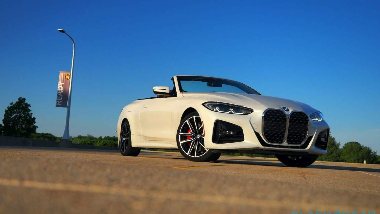 2021 BMW 430i Convertible Review: Less roof, more grille