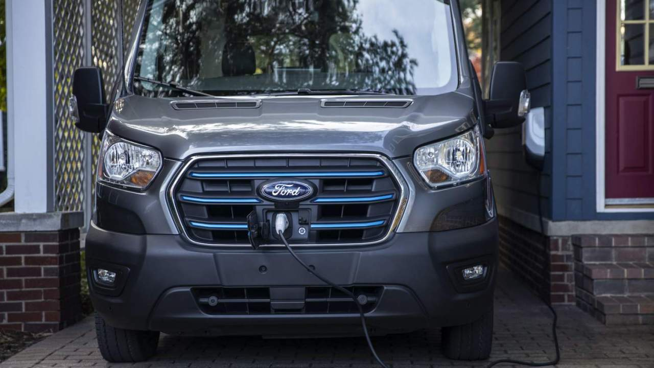 Ford cuts 2022 E-Transit price before the electric van even launches