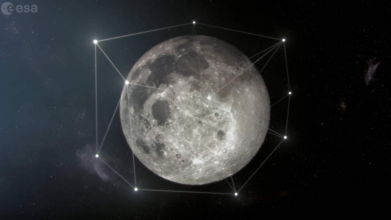 ESA pushes ahead on Starlink-GPS style hybrid network for the Moon